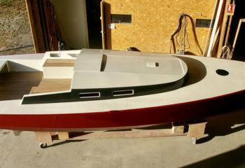 Construction navale voilier 7m