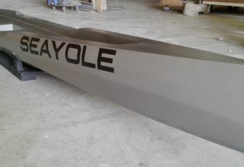 Prototype de yole de mer SEAYOLE