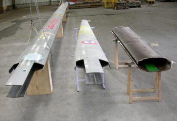 Réparation par manchonnage mat carbone