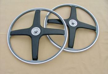 Prototype de roues de vélo en fibres carbone
